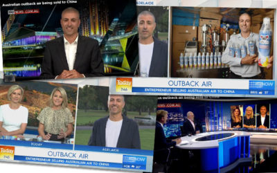 Ozi Air makes the national and International news!
